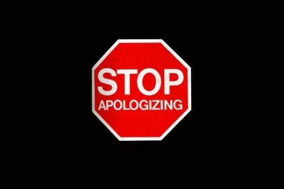 stop-apologizing